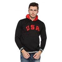 Wajbee Mens Hooded Sweatshirt