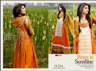 Pakistani Lawn Cotton Dress Material (Unstitched)