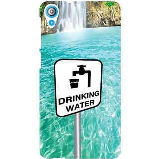 HTC Desire 820 Drinking Water