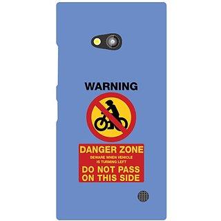 Nokia Lumia 730 Danger Zone