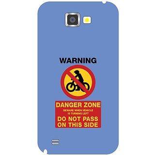 Samsung Galaxy Note 2 Danger Zone