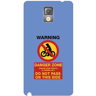 Samsung Galaxy Note 3 Danger Zone
