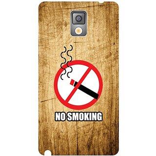 Samsung Galaxy Note 3 No Smoking