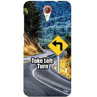 HTC Desire 620 G Take Turn Left