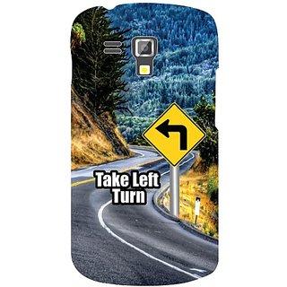 Samsung Galaxy S Duos 7562 Take Turn Left