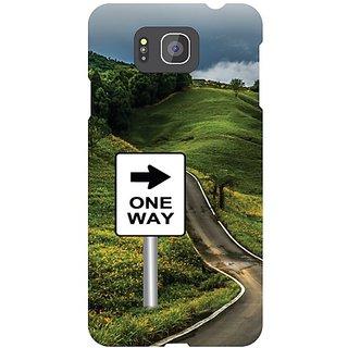 Samsung Galaxy Alpha G 850 One Way