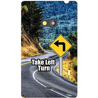 Nokia Lumia 625 Take Turn Left