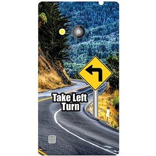 Nokia Lumia 720 Take Turn Left