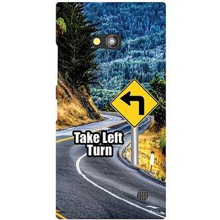 Nokia Lumia 730 Take Turn Left