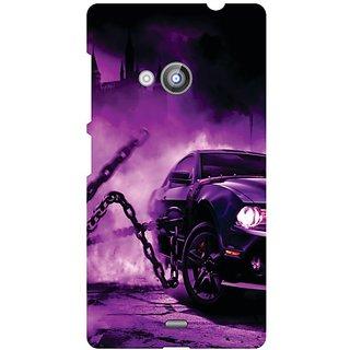Nokia Lumia 535 Purple Car