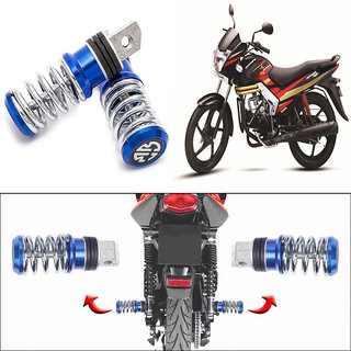 Buy Capeshoppers Spring Coil Style Bike Foot Pegs Set Of 2 For