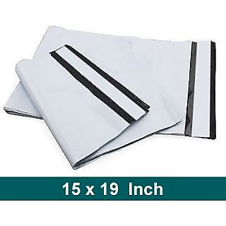 100 Pcs 15 x 19 inch Tamper Proof Plastic Courier Bag Envelopes