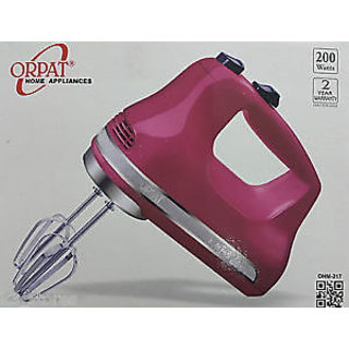 Orpat OHM 217 Hand Blender Mixer 200 Watt 3 Speed