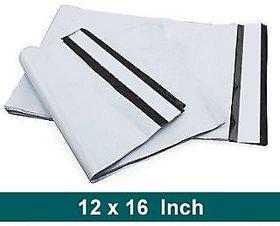 100 Pcs 12 x 16 inch Tamper Proof Plastic Courier Bag Envelopes