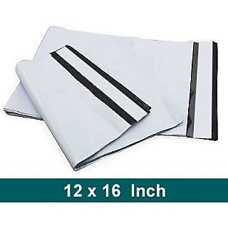 100 Pcs 12 x 16 inch Tamper Proof Plastic Courier Bag Envelopes