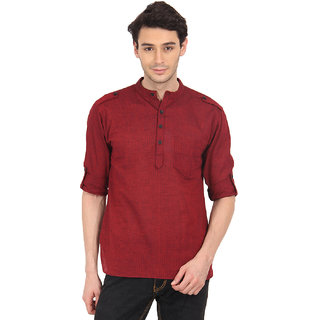 Svanik MenS Fashion Short Kurta