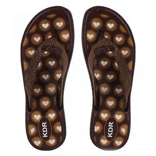 Oricum Women's Beige Flip Flops