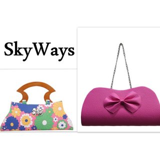 SkyWays Sauve Clutches for women Pack of Two
