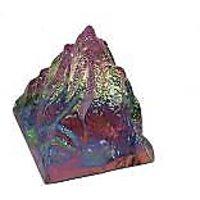 ROCK CRYSTAL GLASS PYRAMID , HEALING CRYSTAL, FENG SHUI