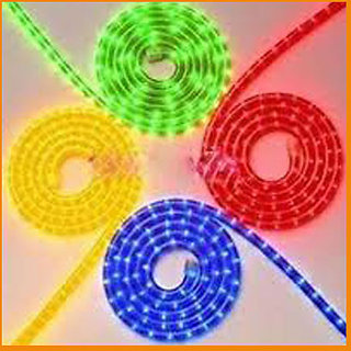 Red Green Blue Yellow Decorative Neon Rope Lights 5X4  20MTR 100 unbreakable