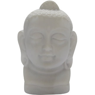 Pg Handicrafts Buddha Head For Peace And Harmony Showpiece