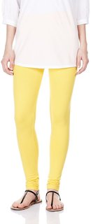 Aniance Apparel Premium Women Leggings (Sunflower Yellow)