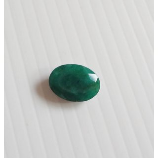 emerald -real emerald Pachu  gemstone  5.70 carate with certification