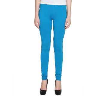 83744874ada554 Buy Aniance Apparel Premium Ankle Women Leggings (Turquoise) Online - Get  26% Off