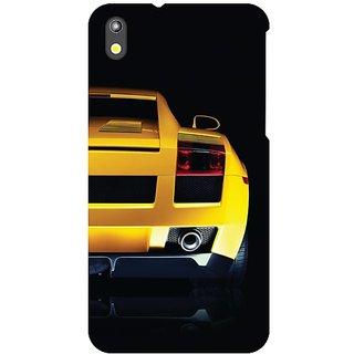 HTC Desire 816G yellow car