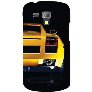 Samsung Galaxy S Duos 7582 yellow car