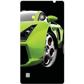 Nokia Lumia 720 green car