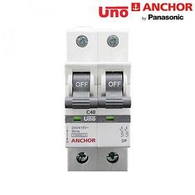 Anchor Uno 40A Dp C Type Mcb