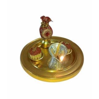 Elegant Gold Plated Lotathali Set