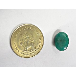 emerald -real emerald Pachu gemstone 6.30 carate with certification