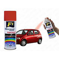 F1 ORIGINAL Car Multi Purpose Lacquer Spray Paint red 450Ml