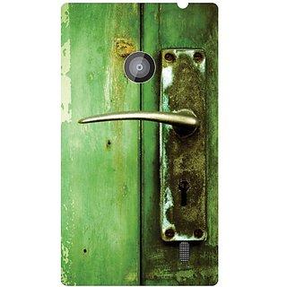 Nokia Lumia 520 green print