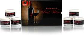 Herbal Black Berry Red Wine Skin Brightening Facial Kit