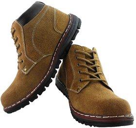 Elvace Brown Road Rocker Boot-5027