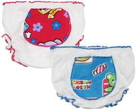 Wonderkids Baby Panty Pack of 2, Blue-Pink