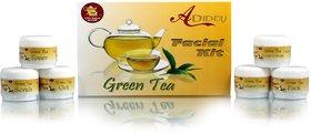 Ayurvedic Green Tea Skin Care Facial Kit