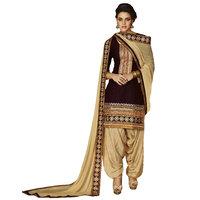 Kvsfab Purple Cotton Cambric Salwar Kameez(2756Jodha-2) (Unstitched)