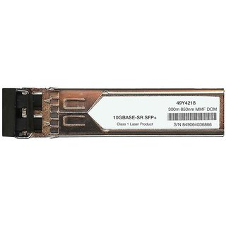 IBM 49Y4218 Compatible 10GBase-SR 10Gbps 850nm SFP+ Transceiver Module
