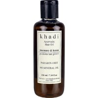 Khadi Paraben Free Ayurvedic Rosemary Henna Hair Growth Oil For Men  Women For All Hair Types - 210ml (Set of 1)