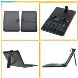 8 Inch Usb Keyboard Leather Black Case Cover For Tablet