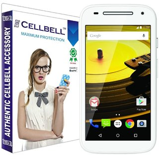 Cellbell Tempered Glass for Moto E2 2nd Generation