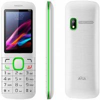 (1600 MAh Battery, Dual SIM) White