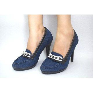 Azores Women's Denim Heels