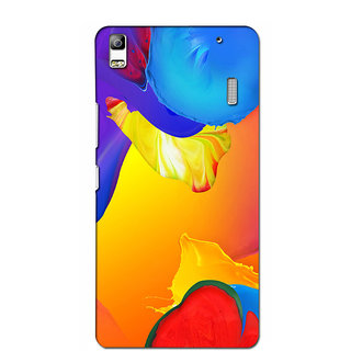 Instyler Premium Digital Printed 3D Back Cover For Lenovo A7000 3DLEN7000DS-10099