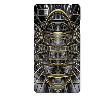 Instyler Premium Digital Printed 3D Back Cover For Lenovo Vibe Z K910 3DLENK910DS-10087