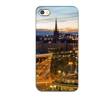 Instyler Premium Digital Printed 3D Back Cover For Apple I Phone 5 3DIP5DS-10069